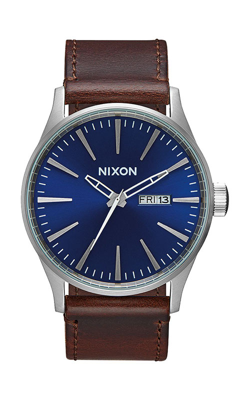 Nixon Sentry Leather Men's Watch A105-1524-00