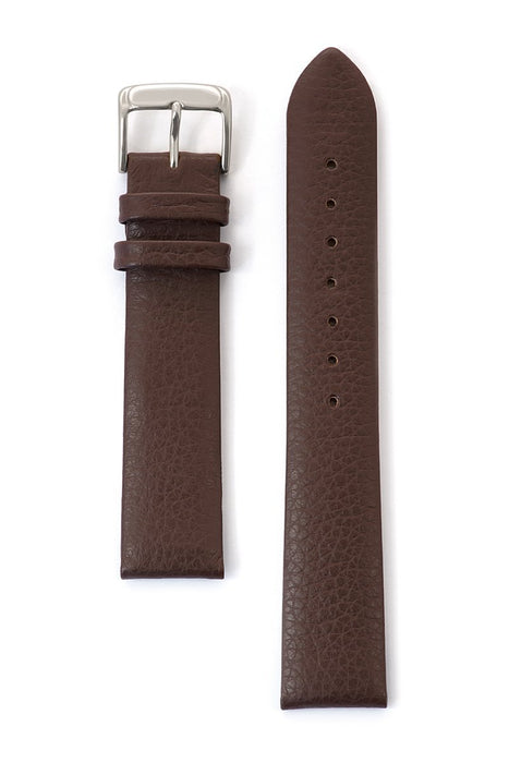 Men's Fine Cowhide Grain Leather Band in Black and Brown
