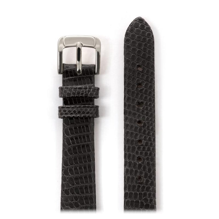 Ladies Genuine Lizard Band in Black