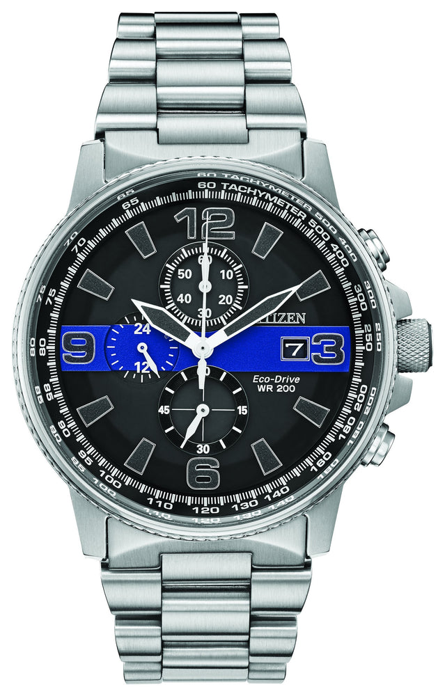 Citizen Thin Blue Line Watch