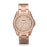 Fossil Riley Rose Gold Dial Glitz Top Ring Rose Bracelet