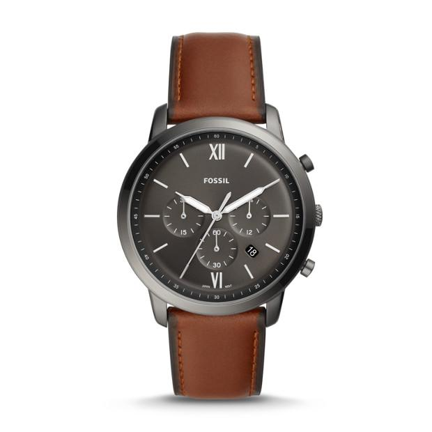 Fossil Neutra Chronograph Amber Leather Watch