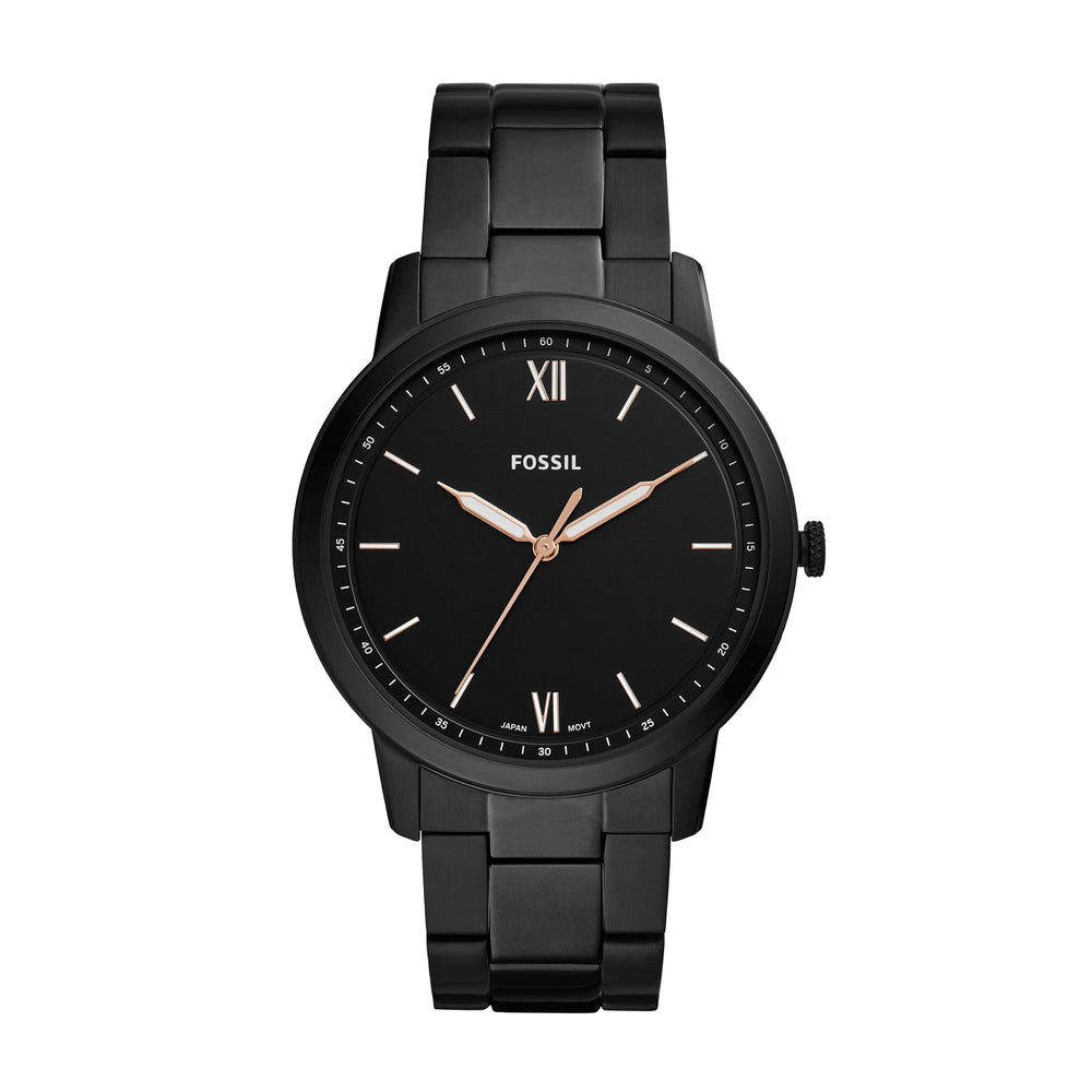 Fossil MD RD BLK BLK BRC