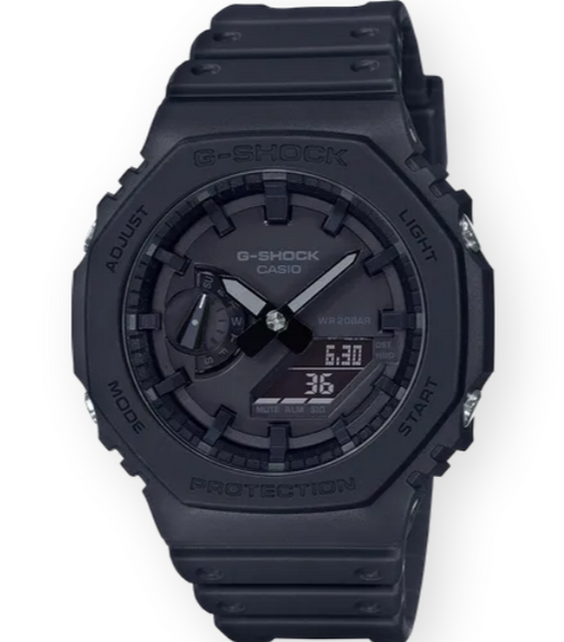 G-SHOCK G-CARBON OCTO SLIM 'LIMITED' GA2100-1A1