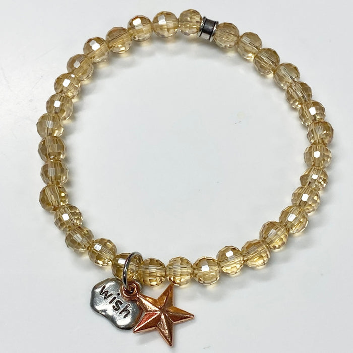 Limited Edition Make-A-Wish Big Star Bracelet 2020