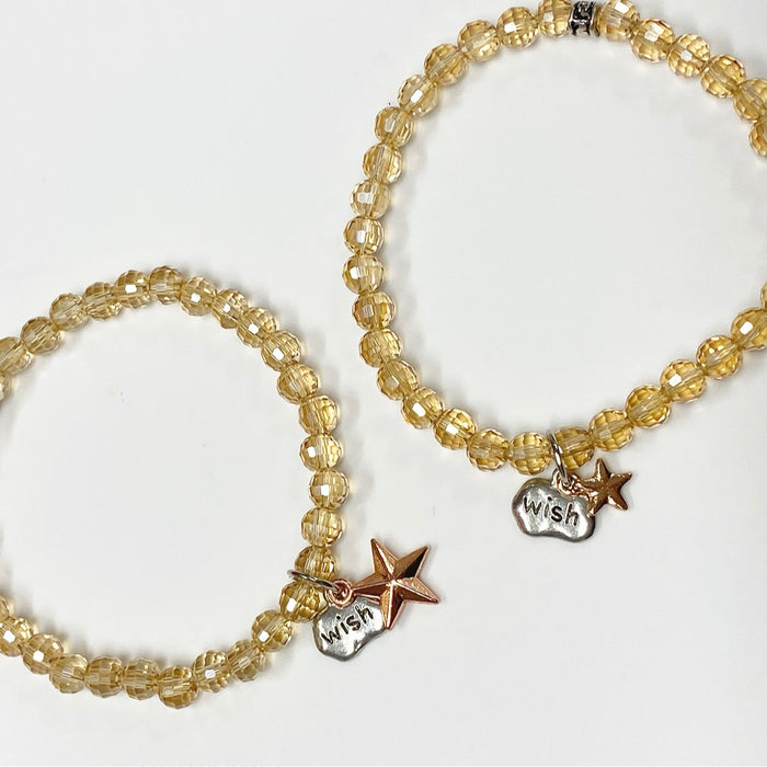 Make-A-Wish Bundle Bracelet Set. Little & Big Star