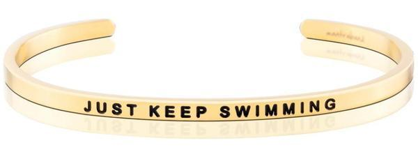 MantraBands Just Keep Swimming Bracelet