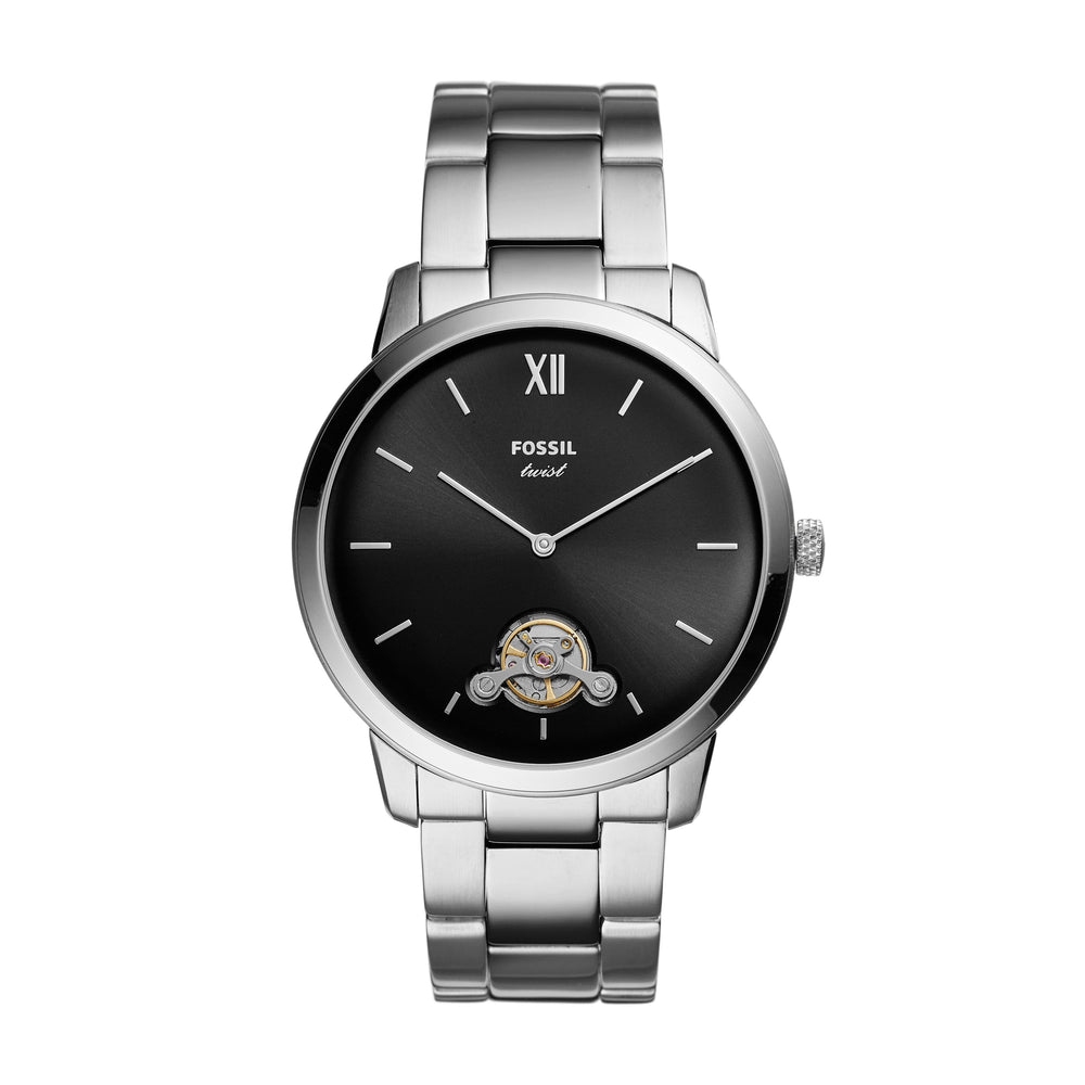 Fossil MD RD SLV BLK BRC