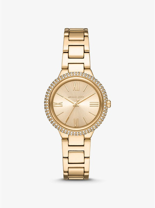 Michael Kors Taryn Pavé Gold Watch MK4459