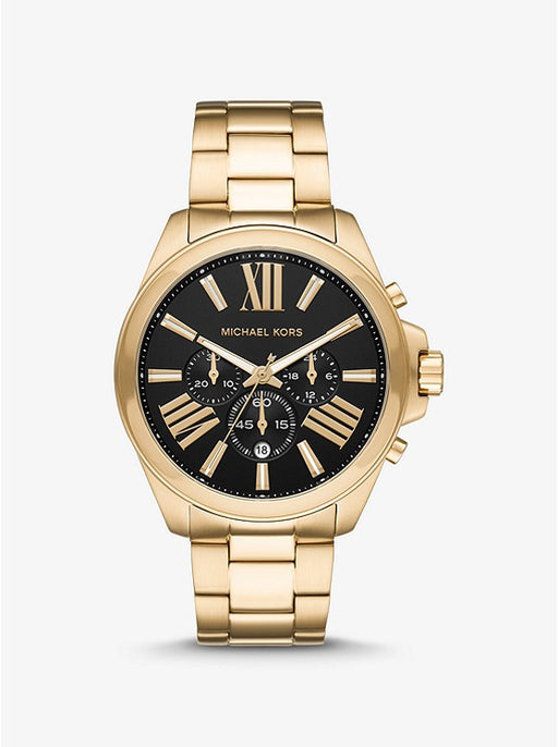 Oversized Wren Gold Watch MK8766