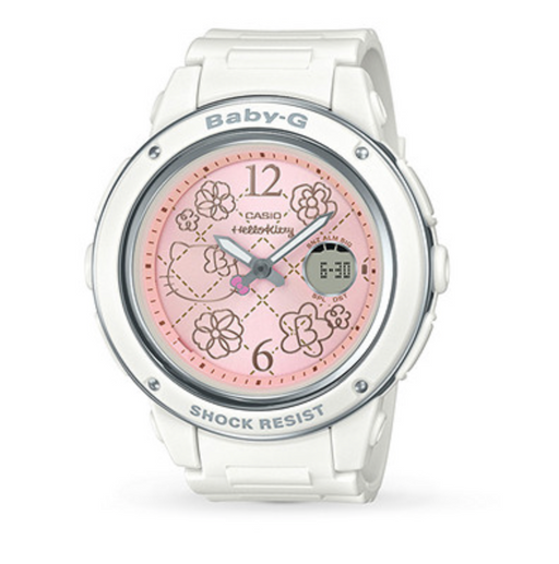 Baby-G Hello Kitty White Watch - LIMITED EDITION