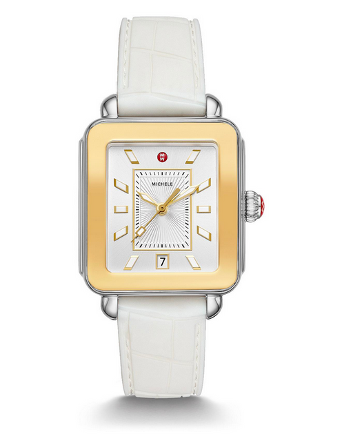 Michele  Deco Sport Two-Tone Watch