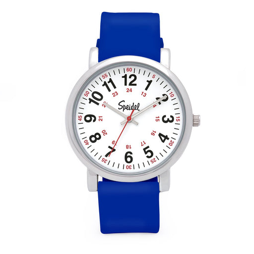 Speidel Scrub Watch with Royal Blue Silicone Band