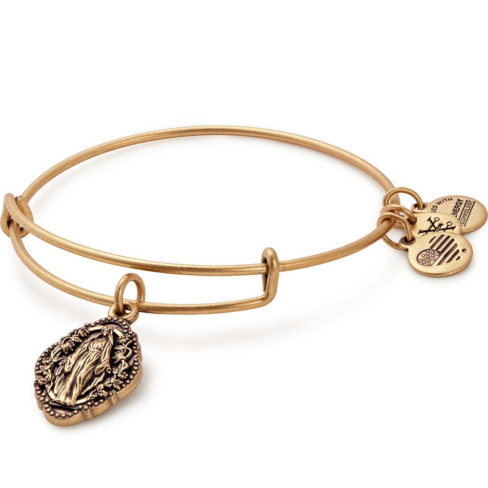 Alex and Ani Mother Mary Charm Bangle