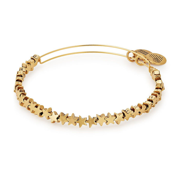 Alex and Ani Star Beaded Bangle