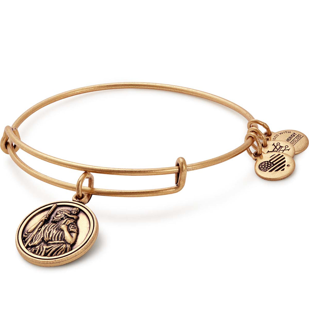 Alex and Ani Saint Christopher Charm Bangle