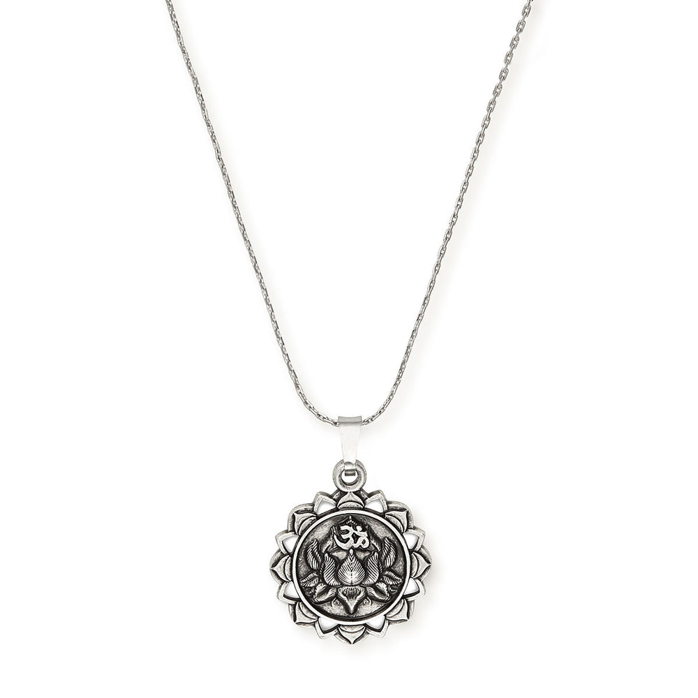 Alex and Ani LOTUS PEACE PETALS Expandable Necklace