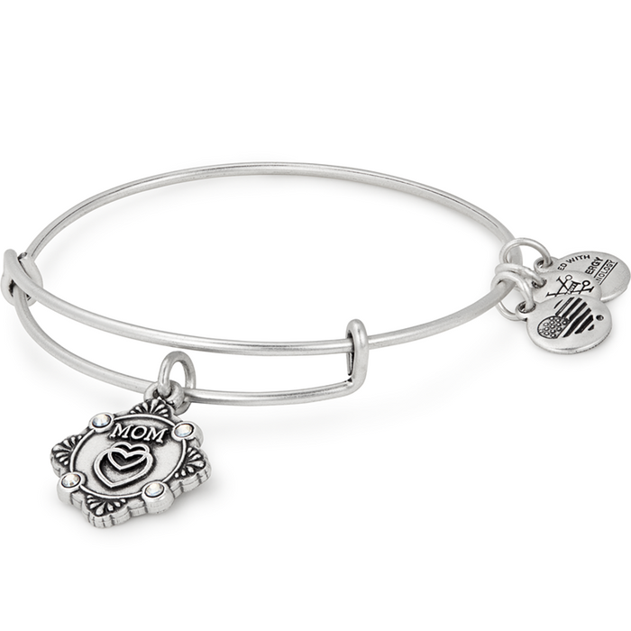 Alex and Ani Mom Charm Bangle