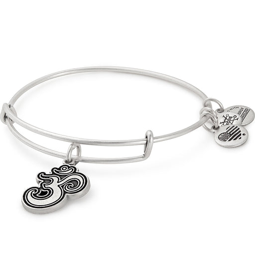 Alex and Ani Om Charm Bangle