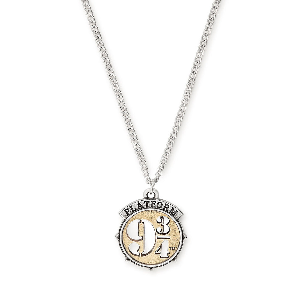 Alex and Ani HARRY POTTER PLATFORM 9 3/4  Two Tone Adjustable Necklace