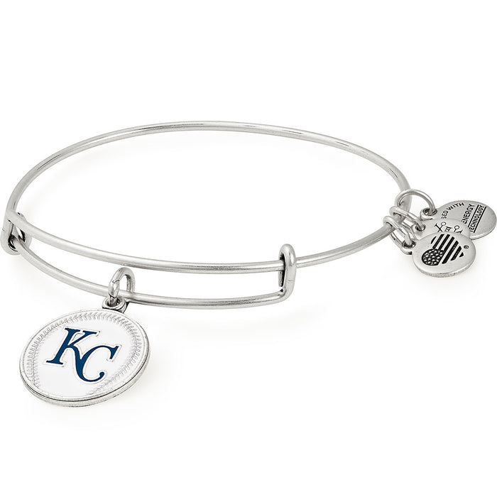 Alex and Ani Kansas City Royals Color Infusion Charm Bangle