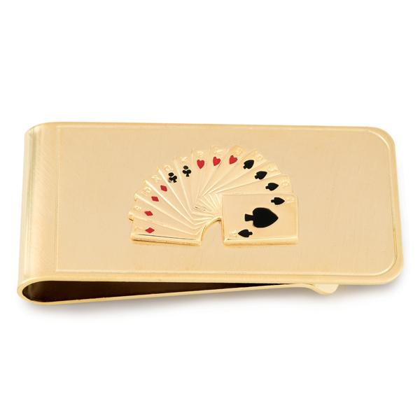 Playing Cards Money Clip