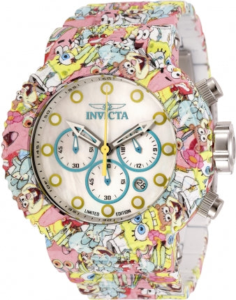 spongebob Invicta watch