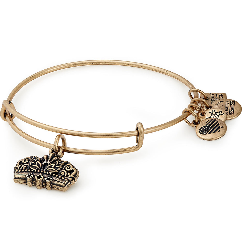 Alex and Ani Queen's Crown Charm Bangle | Girls on the Run