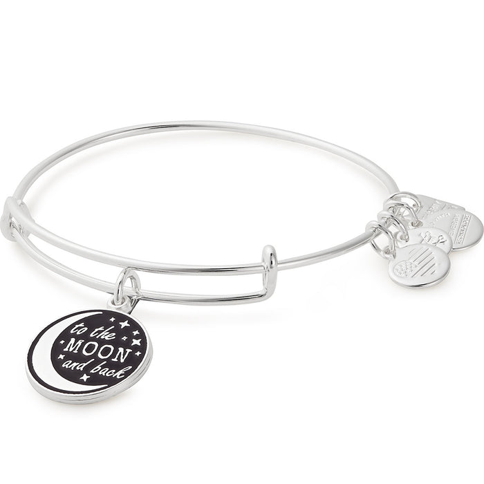 Alex and Ani Stellar Love Charm Bangle | Edesia