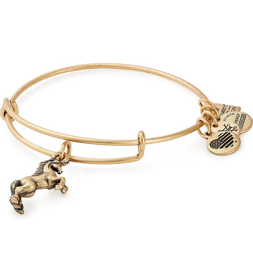 Alex and Ani Unicorn Charm Bangle