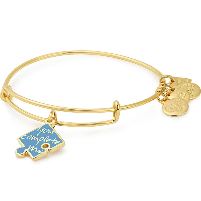 Alex and Ani You Complete Me Charm Bangle | National Autism Association