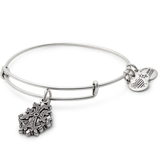 Alex and Ani Armenian Cross Charm Bangle