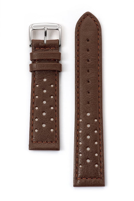 Men's Soft Calf Driving Watchband in Black, Brown and Honey