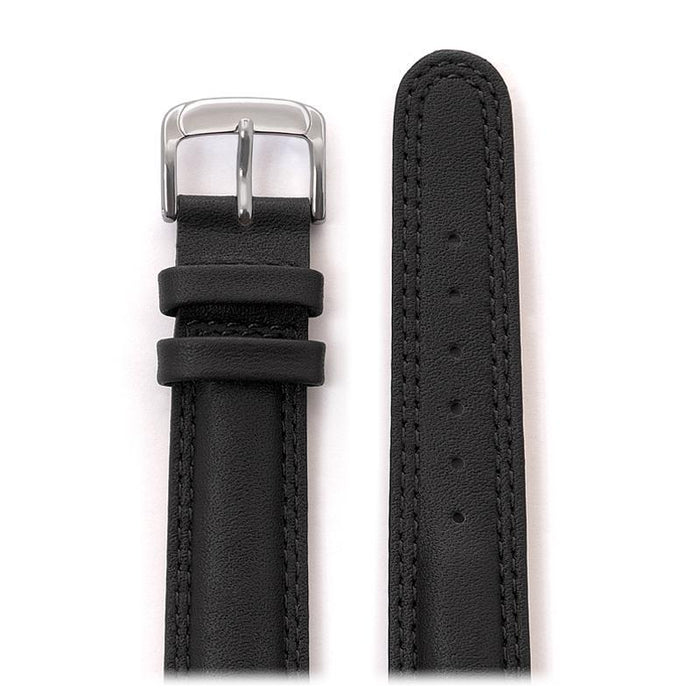 Men's Laredo Double Stitched Leather Band in Black and Brown