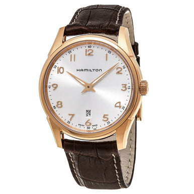 This absolute gem of a watch is perfect for a subtle accessory that is simple, elegant, and designed with an unmatched timelessness. The silver dial paired with the gold numerics that compliment the hands very well are framed by the gold stainless steel case, all of which is fastened to a rich brown leather band. This is the classic and versatile watch that is a must have in any watch owner's repertoire.