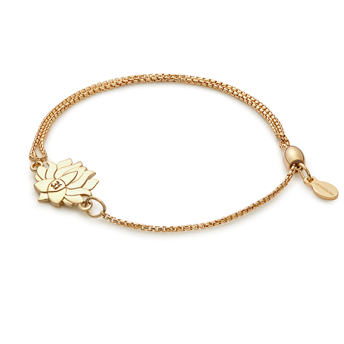 Alex and Ani LOTUS PEACE PETALS Pull Chain Bracelet