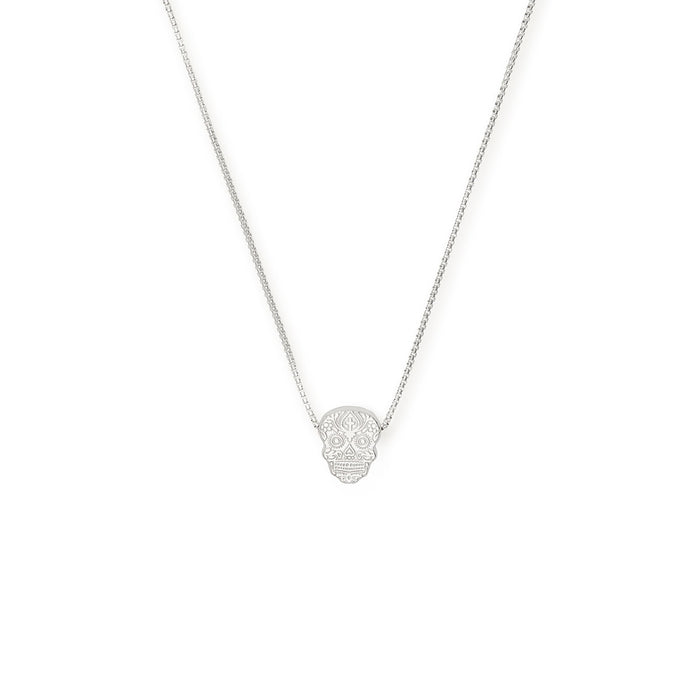 Alex and Ani Calavera Adjustable Necklace
