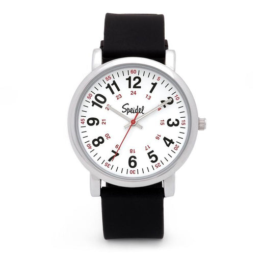 Speidel Scrub Watch with Black Silicone Band
