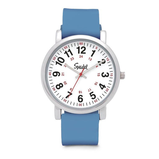 Speidel Scrub Watch with Light Blue Silicone Band