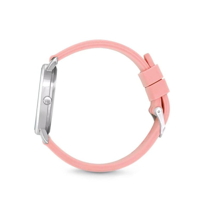 Speidel Scrub Watch with Light Pink Silicone Band