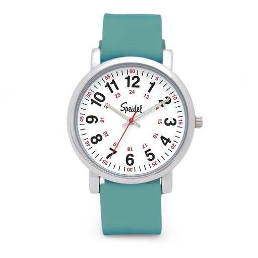 Speidel Scrub Watch with Teal Silicone Band