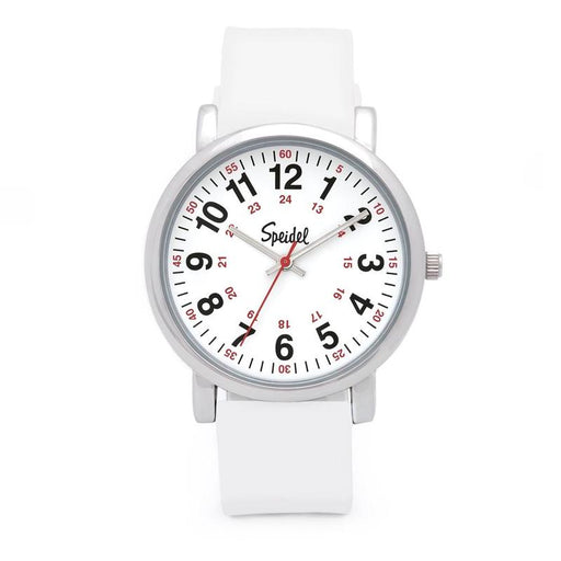 Speidel Scrub Watch with White Silicone Band