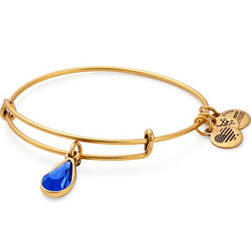 Alex and Ani September Birth Month Charm Bangle With Swarovski® Crystals