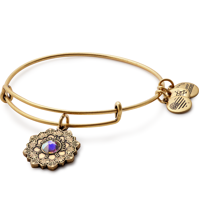 Alex and Ani Mother of the Bride Charm Bangle