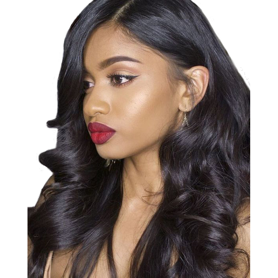 Hair Extensions & Wigs Human Hair Lace Wigs Sapphire Short Lace Front Human Hair Wigs Natural Ocean Wave Human Hair Lace Frontal Wig Brazilian Hair Bob Wig For Black Women