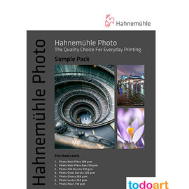 Hahnemuhle Photo Sample Pack A4