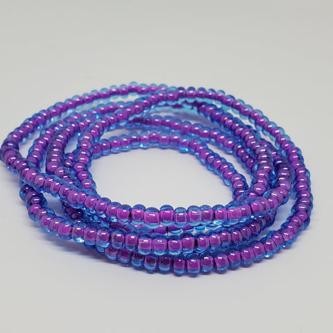 Purple Berry Waist Beads