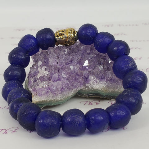 The Blue Buddhist Bracelet