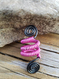 Double Digit Spiral Minis Hair Cuffs Handmade Hair/ Loc Jewelry