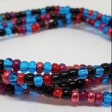 Black Berry Punch Waist Beads
